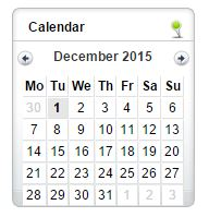 The Calendar Plugin by Seo.uk.net