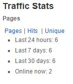traffic-stats-wordpress-plugin